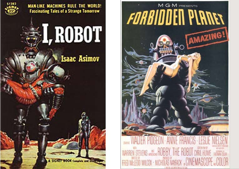 Book cover, 1950 and Movie Poster, 1956