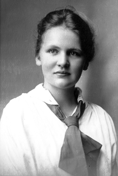 Alice Munro as a young woman.