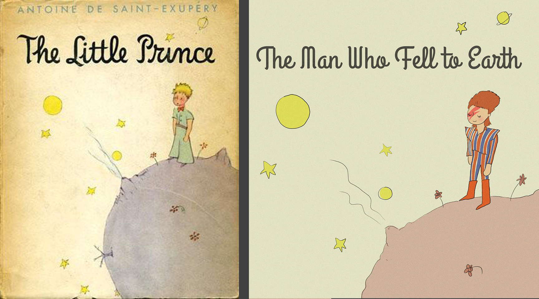 Bowie as the Little Prince